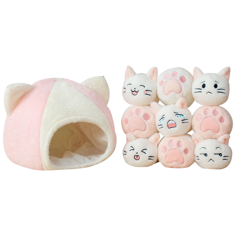 Peluche oreiller un sac de chat coussin peluche Animal chat