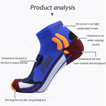 Compression-Socks Thermal-Socks Cycling Coolmax Basketball Outdoor Running Cotton Mix