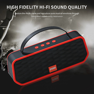 Image 5 - Newest Bluetooth 5.0 Speakers Portable Speakers Outdoor Wireless Bluetooth Stereo Speaker Support TF Card FM Handsfree Call