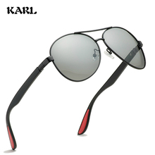 KARL Polarized Sunglasses Men Day and Night Driving Glasses Women Photochromic Pilot