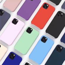 2019 Wholesale Custom Liquid Silicone Mobile Accessories Back Cover Cell Phone Case
