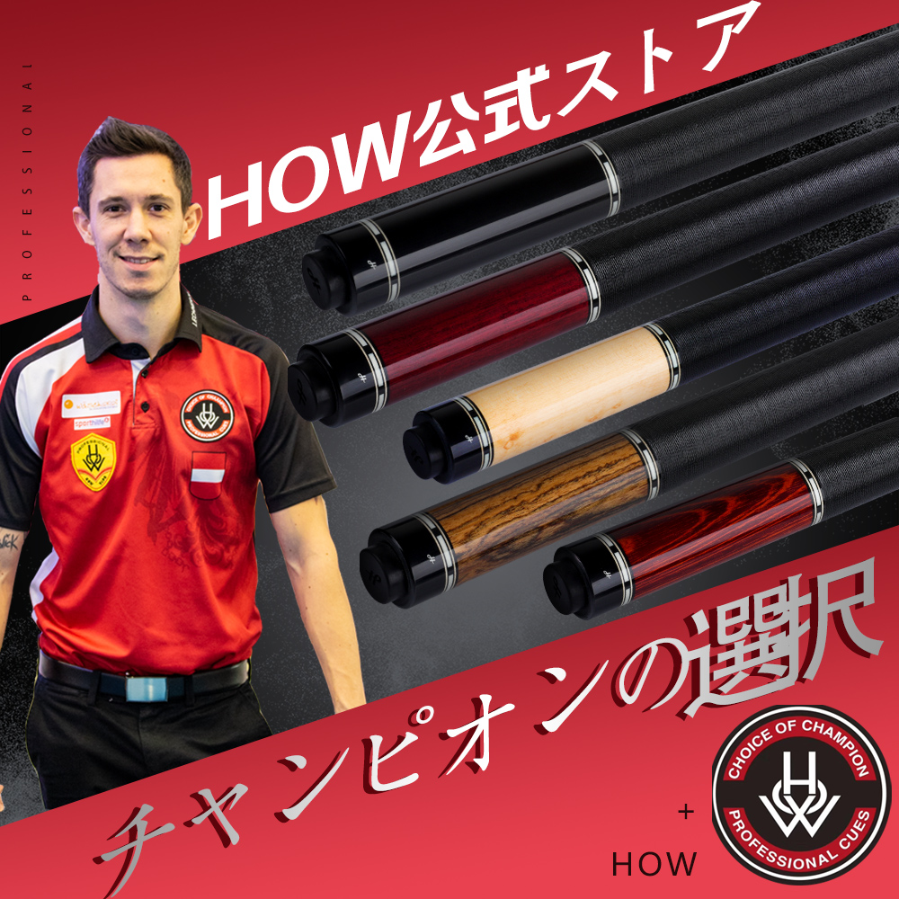 HOW CUES Offical ZR Pool Cue Stick 13mm Tip Maple Shaft Handmade Pool Cue Professional Player Recommend Billiard Nine Ball Kit