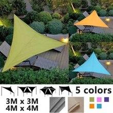Водонепроницаемый Анти-УФ тент треугольник солнцезащитный навес патио навес сад солнцезащитный навес открытый солнцезащитный навес для сада кемпинг палатка-бассейн