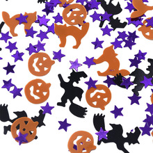 15g/pack New Halloween Confetti Witch Specter Spider Skull Head Star Table Sprinkles Supplies DIY Party Decor