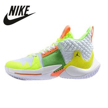Nike Air Jordan 2 Russell Westbrook Low Help Aj2 Basketball Shoes Size 40-46