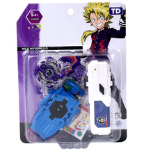 Gyroscope with Launcher Bey Blade Burst Toys for Children Gyro with Launcher in Package TD1009A55 burst generation blast gyroscope alloy assembled combat gyro toy with ruler launcher