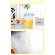 180ml Baby Breast Milk Storage Bottle Infant Newborn Food Freezer Container Milk Powder Nuts Tea Organizer 45BF