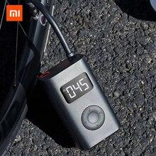 Xiaomi Mijia bomba de aire eléctrica portátil e inteligente, con detección de presión de neumáticos, para bicicleta, motocicleta, coche y fútbol