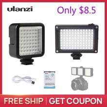 Ulanzi 49 LED Video Flash Light / 96 LED Video Light for Camera Canon Nikon iPhone X MINI Light for Smooth Q2 OSMO POCKET Gimbal