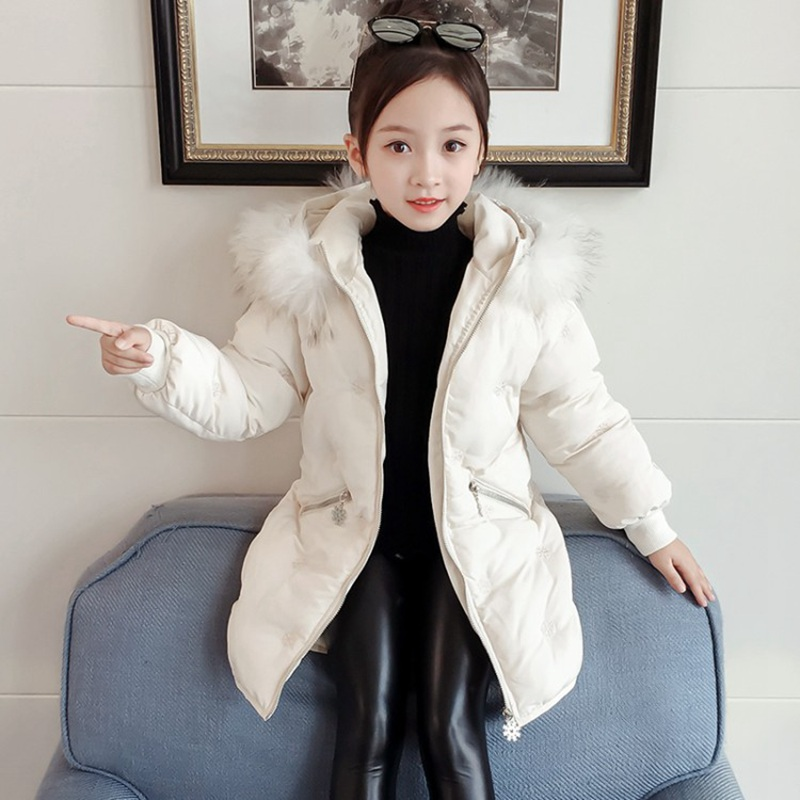 CROAL CHERIE Real Fur Outerwear & Coats Winter Jacket For Girls Children Winter Clothing Outerwear Coat Toddler Clothes (6)