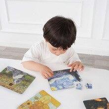 MiDeer Mi Deer детская головоломка всемирно известная Живопись Художественная Когнитивная головоломка обучающая игрушка для детей 3-6 лет