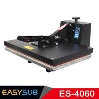 40*60 heat transfer machine flat plate pressing machine small high pressure heat press machine printing T shirt hot drilling
