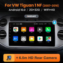 AWESAFE PX9 para Volkswagen Tiguan 1 NF 2006 - 2017 auto Radio Multimedia reproductor de video GPS No 2din 2 din Android 10,0 2GB + 32GB