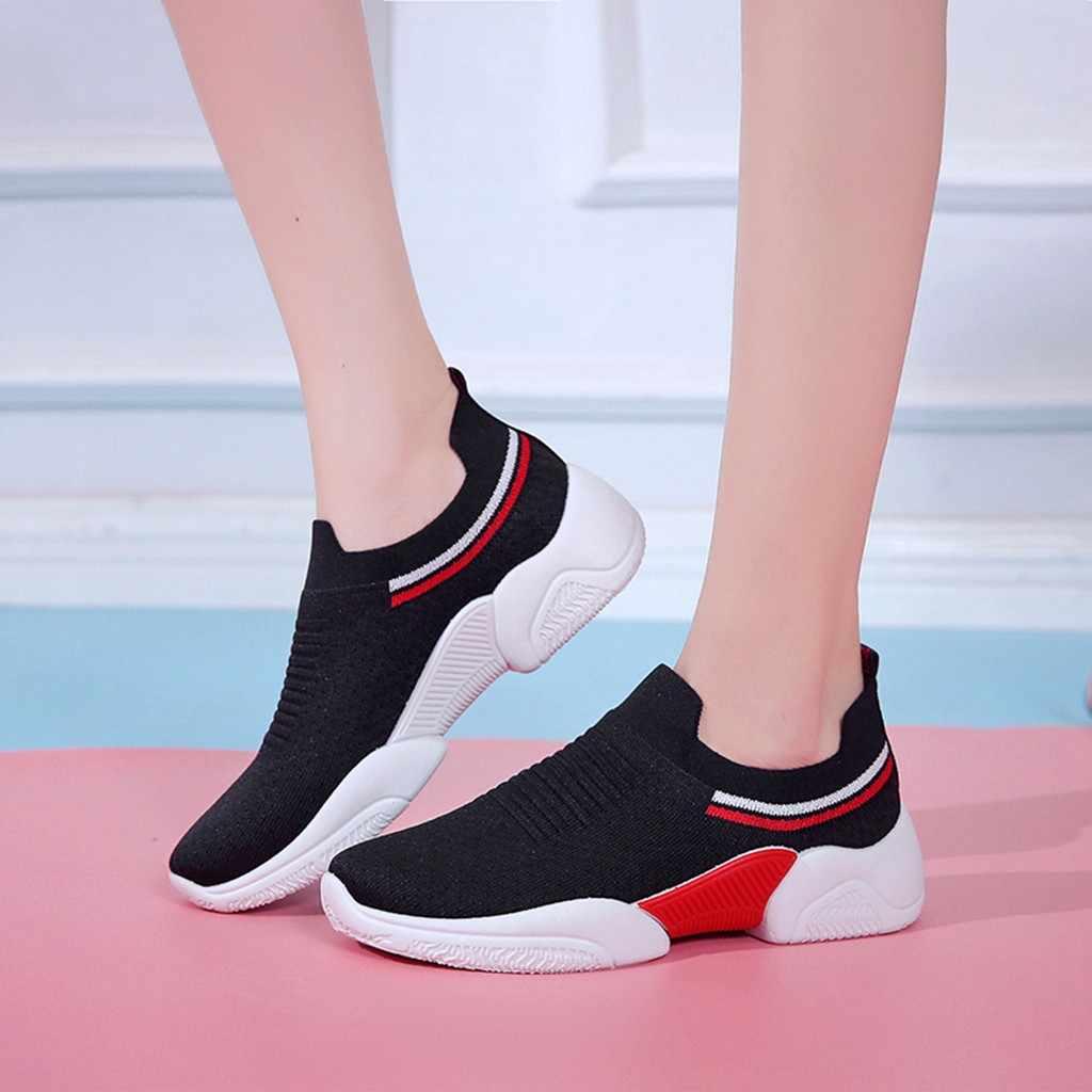 Zapatos de mujer zapatos planos informales transpirables zapatos cómodos de mujer zapatillas de mujer #1031