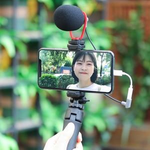 Image 5 - Ulanzi MT 10 Mini Tripod for Osmo Mobile 2 3 Gimbal Tripod Base Accessories Travel Vlog Tripod for Smartphone DSLR SLR Camera