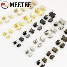 Meetee 20/50 наборов металлическая застежка молния для 3 #/5