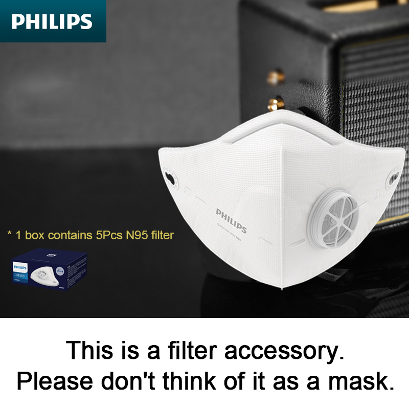 Accessories,Philips Acm066 Electric Mask Filter, A Box Of 5pcs. If There Is No Electric Mask, Please Do Not Order.