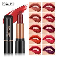 ROSALIND makijaż szminki czerwone aksamitne matowe szminki wodoodporne matowe szminki pomadki do ust kosmetyczne łatwe w noszeniu 19 kolorów tanie tanio CN (pochodzenie) Łatwe do noszenia 6972542140008-T01 3 8g CHINA Szminka Easy to Wear 19 red colors
