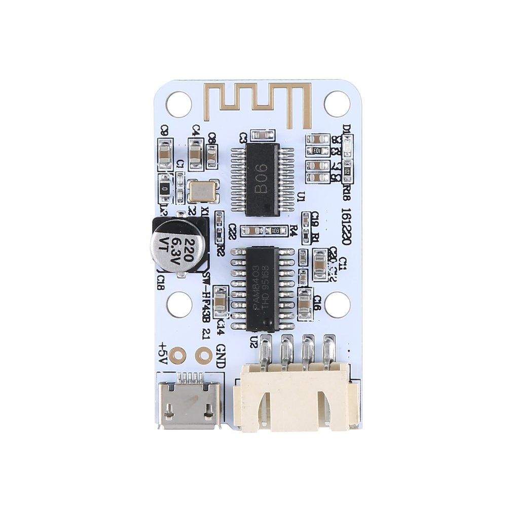 Power Amplifier Board Mini Audio Digital Amplifier Board Usb Powered Receive Digital Power Amplifier Hf43B