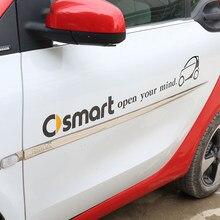 Voiture autocollants et décalcomanies Auto autocollant pour Smart Fortwo Forfour 453 451 450 Crossblade Cabrio City-Coupe Roadster Coupe Forjeremy