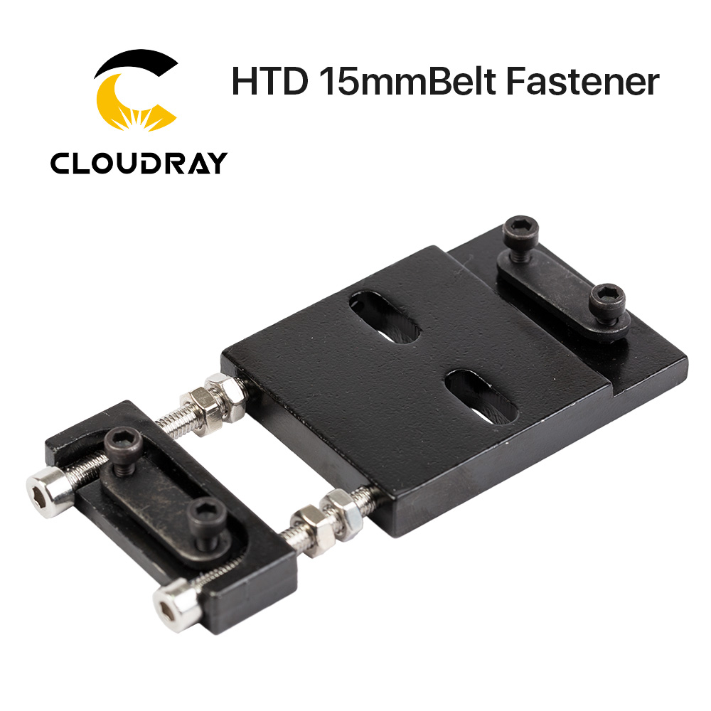 Cloudray Belt Fastener For Width 15MM Open-Ended Timing Belt Transmission Belts For X/Y Axis Hardware Tools Machine Parts