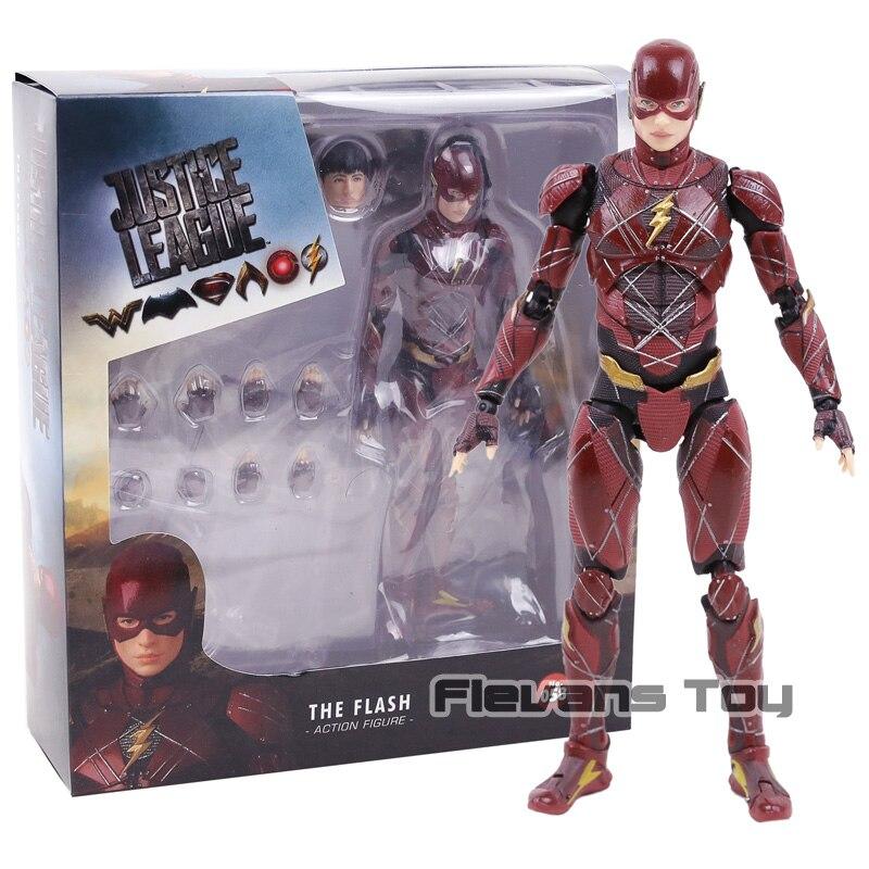 Marvel The Flash Justice League DC Comics Mafex No.058 Superhero Action Figure