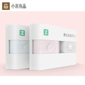 Image 1 - 2 adet/torba Youpin ZSH havlu çocuk serisi bebek özel yıkama pamuk yumuşak çocuklar için okul ev bebek havlusu