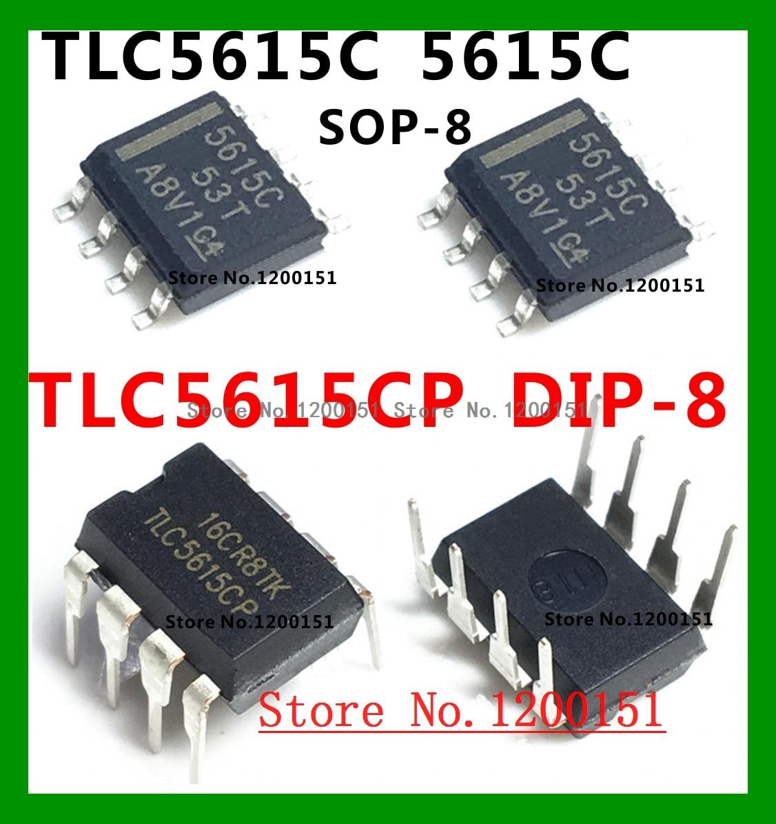 DAC 10bit DAC DIP-8 1pcs TLC5615CP Digital to Analog Converter