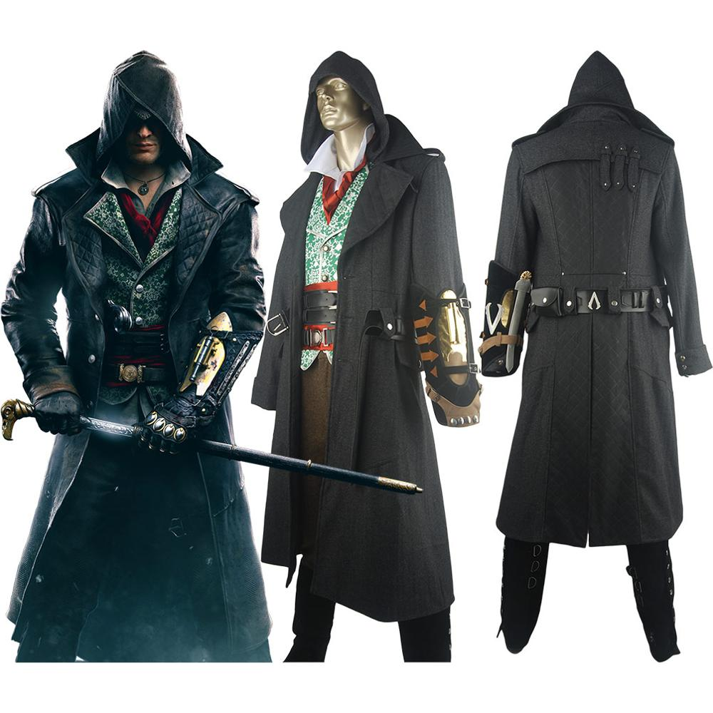 Ac Syndicate Jacob Frye Hoodie Deluxe Outfit Halloween Carnival