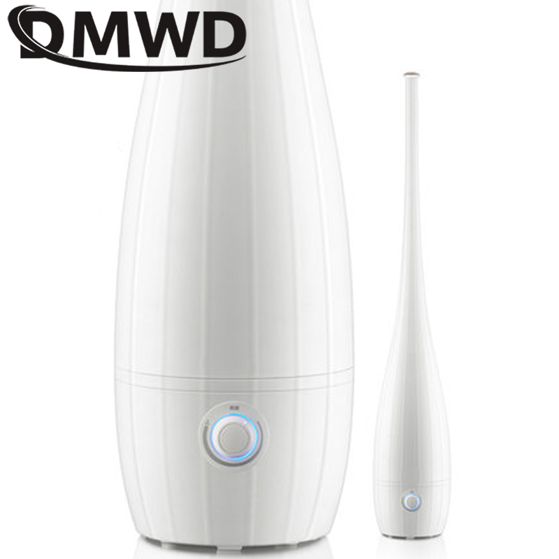 DMWD High Quality Humidifier 4L Ultrasonic Air humidifier Floor-standing Diffuser Mute Mist Maker Fogger Spray Anion Humidifiers