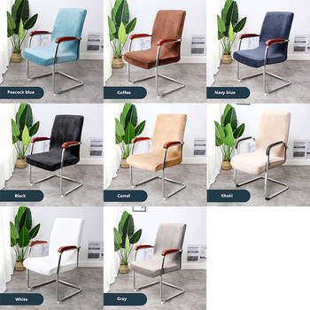 Stretchable Waterproof Spandex Office Chair Covers 5 Chair And Sofa Covers