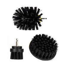 3pcs Cleaning Brush Electric Bathtubs Nylon Showers Set Accessory Replacement Replace Kit Tiles Useful
