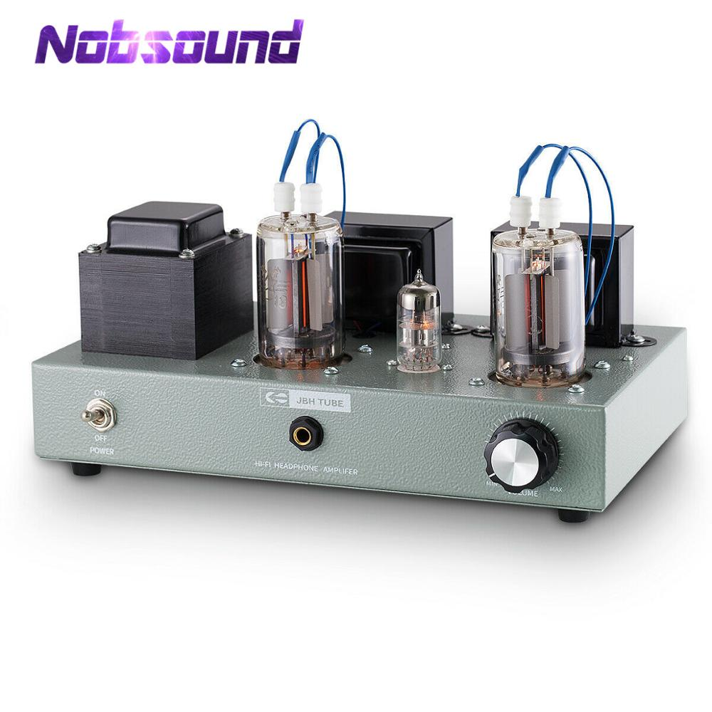 Nobsound HiFi FU19 Vacuum Tube Power Amplifier Class A Stereo Audio Amp Headphone Amplifier image