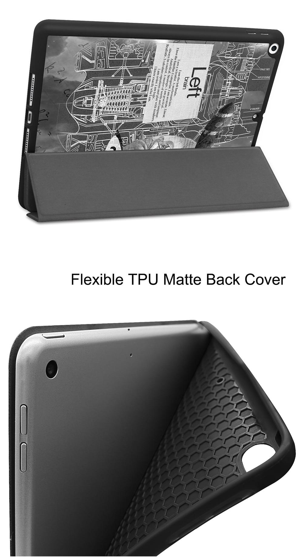 Leather 8th +PU iPad Tablet 2020 7th 10.2 Flip TPU inch Case Soft MTT Generation For