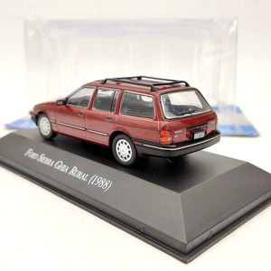 Image 3 - 1/43 IXO Ford Sierra Ghia Rural 1988 Red Diecast Toys Models Collection Car Gift