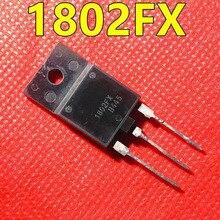 10pcs/lot MD1802DFX MD1802FX TO-3PF High power power tube NPN Transistor 1500V 10A cischy