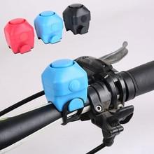Велосипедный Электрический рупор водонепроницаемый велосипедный Звонок для руля руль силикагелевый корпус кольцо велосипедный Звонок дропшиппинг#40