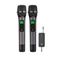 Professional UHF Karaoke Wireless Microphone Professiona Handheld Microfone Singing Recorder Microphone
