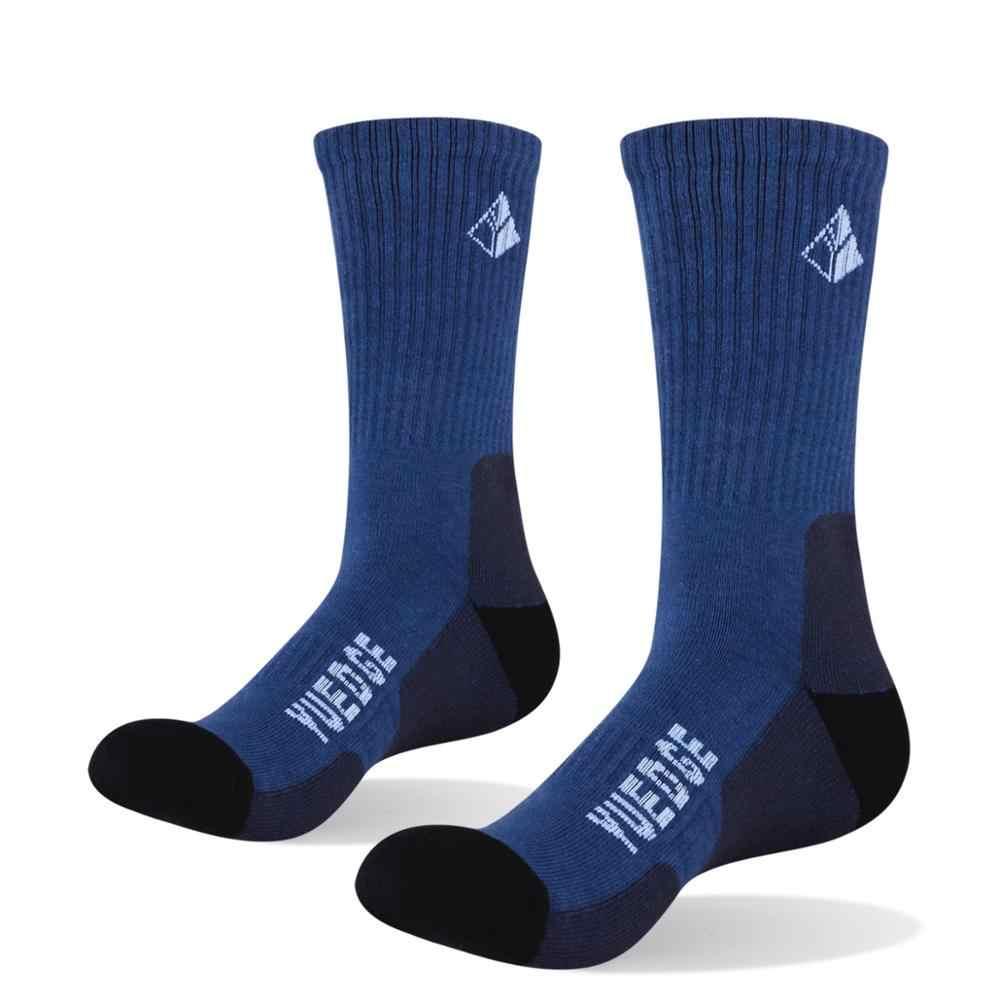 Calcetines YUEDGE de alta calidad para hombre, protección de algodón cálido para adultos, transpirables, deportivos, para correr, senderismo, calcetines de vestir