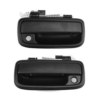 ABS and Iron Front Left Right Outside Exterior Door Handle Plastic ABS Iron for TOYOTA HILUX 2004-2012 TACOMA 1995-2004 image