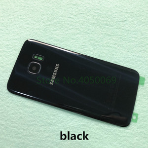 Image 2 - סמסונג חזרה סוללה כיסוי לסמסונג גלקסי S7 G930 SM G930F S7 קצה G935 SM G935F חזרה אחורי זכוכית מקרה + כלים