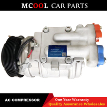 AC A/C Air Conditioning Compressor Cooling Pump 10PA17C D27DT For SSANGYONG REXTON RODIUS 2.7 SY558-02 6652300011 6652300211 new ac compressor for ssangyong rexton gab 2 7 2 9 2002 6611304415 6611304915 714956 tsp0155880 92010948