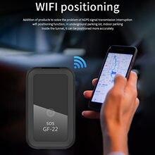 App Echtzeit-tracking Gps Locator Opname Anti-verloren Voice Control Gf22 Auto Tracking Anti-diefstal Apparaat mini Auto