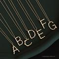 Carta 925 prata esterlina colar de ouro estilo feminino gargantilha colar de ouro para mulheres luxo jóias presente de aniversário