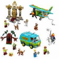 10430 & 10429 Scooby Doo mystère Machine Bus legoinglys ville blocs de construction briques jouets 10430 combiné anniversaire enfants cadeaux jouet