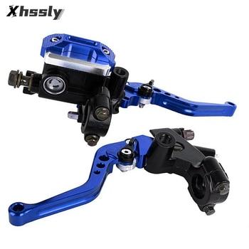 CNC Motorcycle Clutch 22mm Brake Master Cylinder Pump Levers For YAMAHA yzf r1 fazer 250 dt 125 BMW 1200gs HONDA dax goldwing