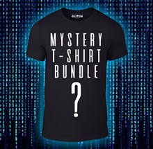 Mystery T-Shirts Bundle - Movie TV Gaming Funny 3 or 5 Tee Pack Cheap wholesale tees100% Cotton For ManT shirt printing(China)