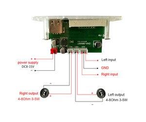 Image 4 - AIYIMA MP3 Decoder Audio Board Musik Player Blau Led anzeige 5W * 2 Verstärker Bluetooth Dekodierung AUX USB SD karte FM Radio