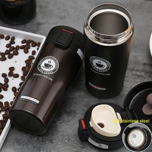 Vacuum Flask Tumbler-Cup Coffee-Mug Water-Bottle Stainless-Steel Travel Portable 380/500ml
