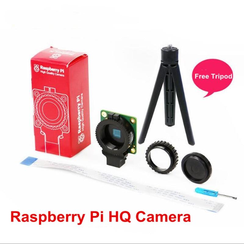 Raspberry Pi High Quality Camera 12.3MP IMX477 Sensor Supports Raspberry Pi HQ Camera with 16mm Telephoto Len / Wide Angle Len